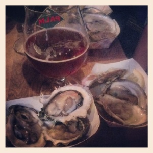 Oysters and Beer